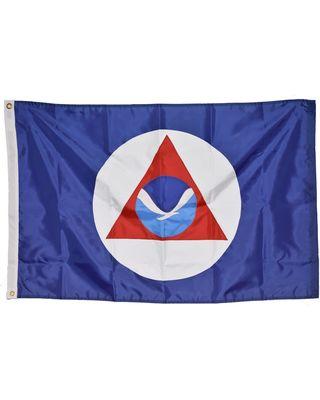 Size 3 - 30 in x 46 in. NOAA Flag w/ Heading & Grommets