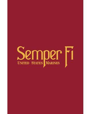 12 in. x 18 in. Semper Fi Garden Flag
