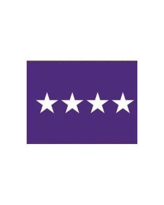 2ft. x 3ft. Chaplain 4 Star General Flag w/Grommets