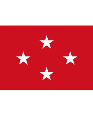 3 ft. x 4 ft. Marine Corps 4 Star General Flag w/Grommets