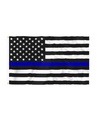 3 x 5 ft. Thin Blue Line Flag