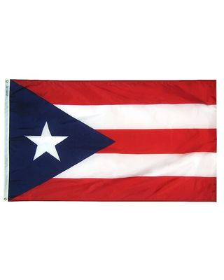 12 in. x 18 in. Puerto Rico Flag Outdoor