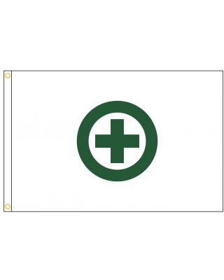 3ft. x 5ft. US Army Corps of Engineer Safety Flag