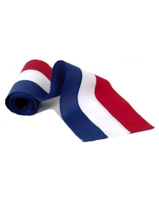 36 in. x 21 yds. Bolt Red White Blue Bunting