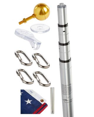 21 ft. Liberty Telescoping Flagpole Parts