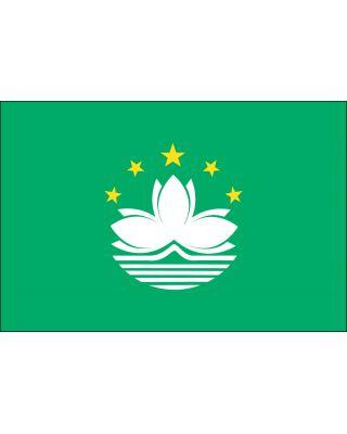 3ft. x 5ft. Macau Flag with Canvas Header