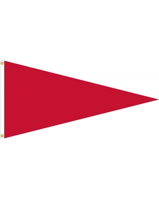 36 in. x 72 in.  Gale Storm Warning Signal Pennant w/Heading & Grommets