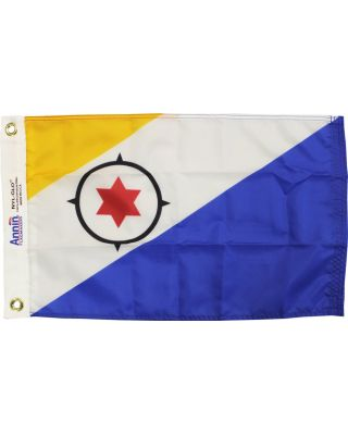 2ft. x 3ft. Bonaire Flag with Canvas Heading & Grommets