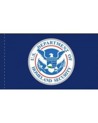 2ft. x 3ft. DHS Flag w/ Side Pole Sleeve