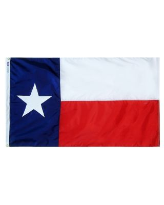 Size 8 Texas Flag Nylon w/ Heading & Grommets