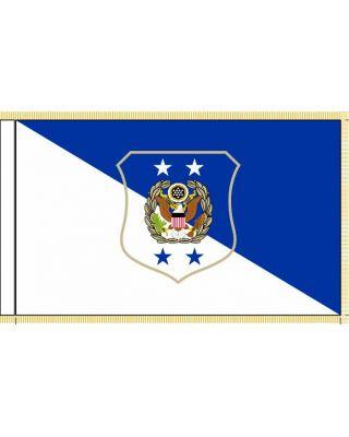 3ft. x 5ft. Chief Master Sgt USAF Pole Hem & Fringe