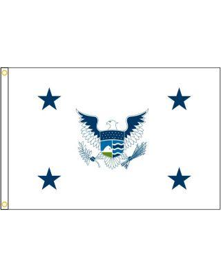 3ft. x 5ft. Deputy Secretary of Homeland Security Flag w/ H&G