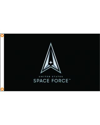 3ft. x 5ft. U.S. Space Force Logo Flag Heading & Grommets
