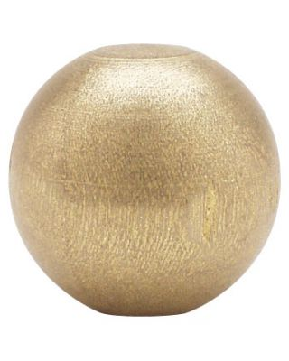 7/8 in. Gold Wood Ball Tips