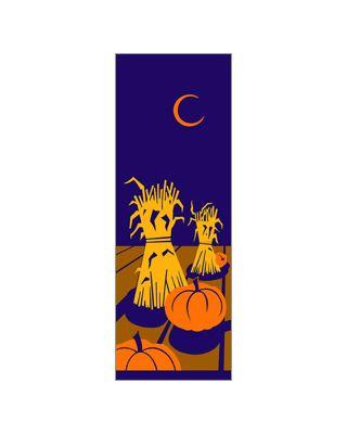 30 x 60 in. Seasonal Banner Haystacks & Pumpkins