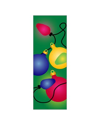30 x 84 in. Holiday Banner Holiday Ornaments