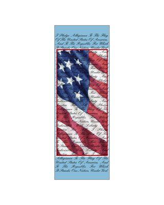 30 x 84 in. Seasonal Banner Pledge of Allegiance