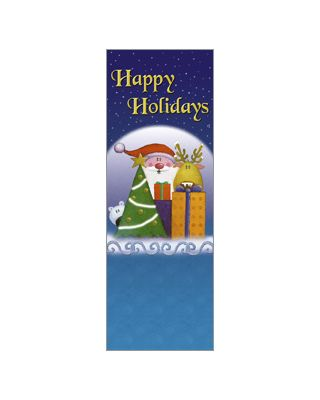 30 x 60 in. Holiday Banner Holiday Pals