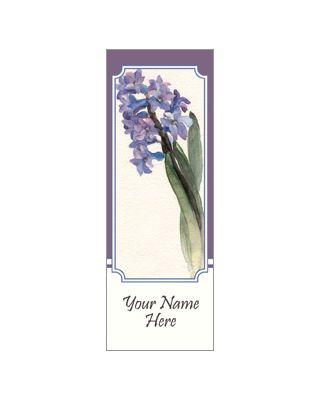 30 x 60 in. Seasonal Banner Watercolor Hyacinth