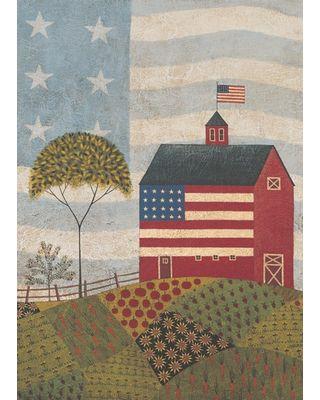 American Farm House Flag