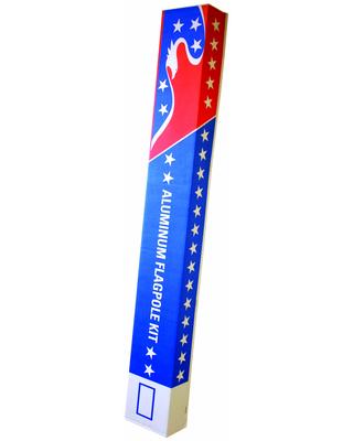 Homesteader Flagpole Packaging
