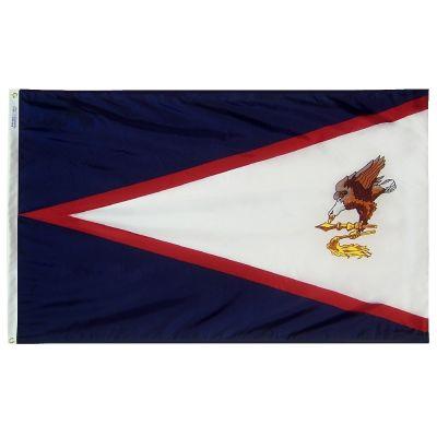 4ft. x 6ft. American Samoa Flag w/ Line Snap & Ring