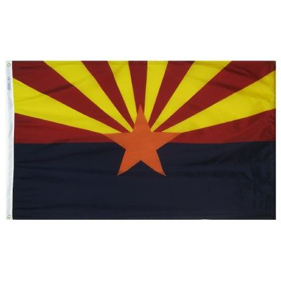 3ft. x 5ft. Arizona Flag with Brass Grommets