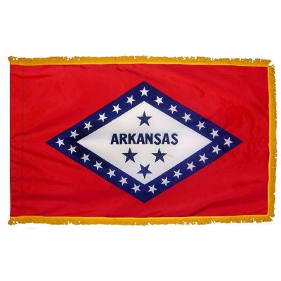 4ft. x 6ft. Arkansas Fringed for Indoor Display