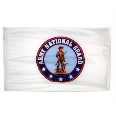 3 ft. x 5 ft. Army National Guard Flag Indoor Display