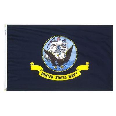12 in. x 18 in. Navy Flag