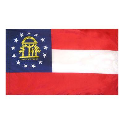 4ft. x 6ft. Georgia Flag for Parades & Display