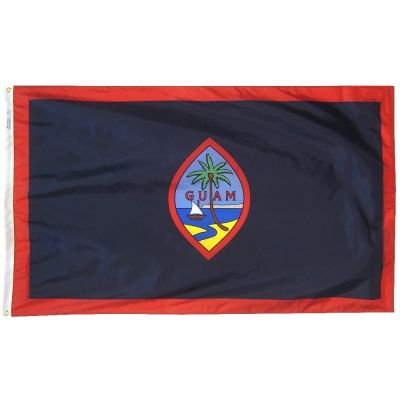 3ft. x 5ft. Guam Flag with Brass Grommets