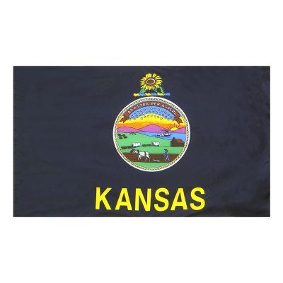 4ft. x 6ft. Kansas Flag for Parades & Display