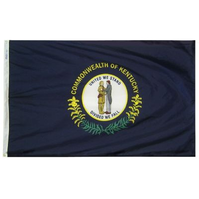 2ft. x 3ft. Kentucky Flag with Brass Grommets