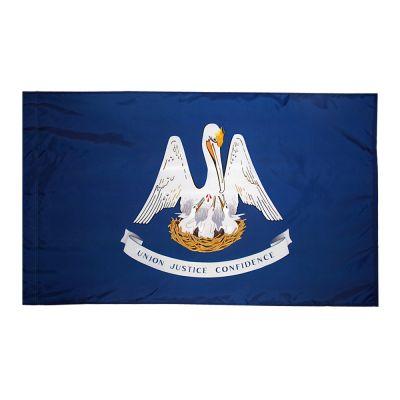 4ft. x 6ft. Louisiana Flag for Parades & Display