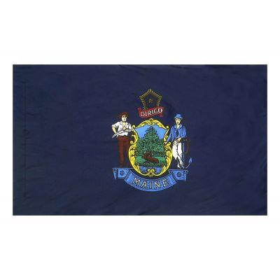 3ft. x 5ft. Maine Flag Side Pole Sleeve