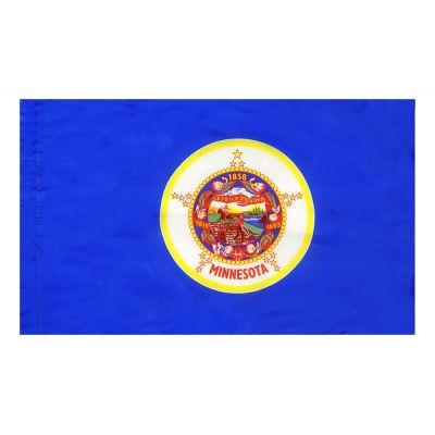4ft. x 6ft. Minnesota Flag for Parades & Display