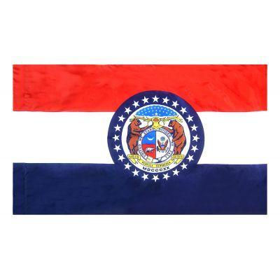 3ft. x 5ft. Missouri Flag Side Pole Sleeve