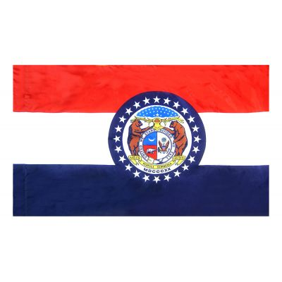 4ft. x 6ft. Missouri Flag for Parades & Display
