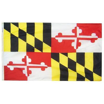 8ft. x 12ft. Maryland Flag