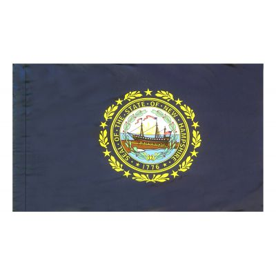 4ft. x 6ft. New Hampshire Flag for Parades & Display