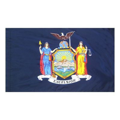 4ft. x 6ft. New York Flag for Parades & Display