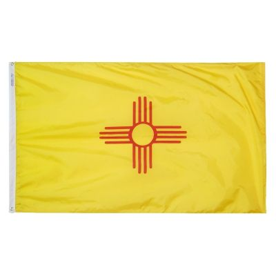 2ft. x 3ft. New Mexico Flag with Brass Grommets
