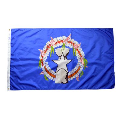 3 ft. x 5 ft. Northern Marianas Flag Outdoor Use