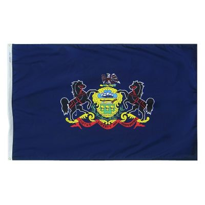 2ft. x 3ft. Pennsylvania Flag with Brass Grommets