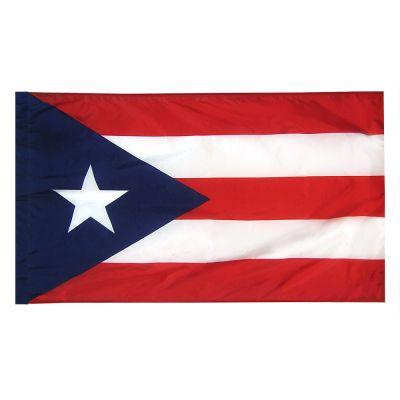 2ft. x 3ft. Puerto Rico Flag Side Pole Sleeve