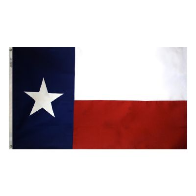 6ft. x 10ft. Texas Flag Heavy Polyester