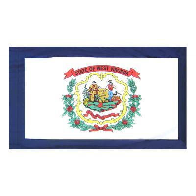 2ft. x 3ft. West Virginia Flag Side Pole Sleeve