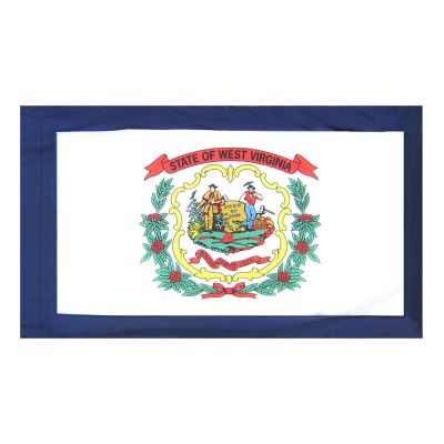4ft. x 6ft. West Virginia Flag for Parades & Display