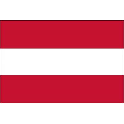 2ft. x 3ft. Austria Flag for Indoor Display